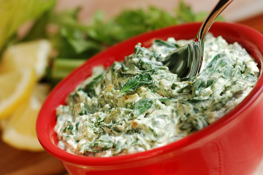 Healthy Spinach Artichoke Dip Recipe